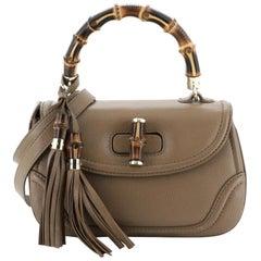Gucci New Bamboo Convertible Top Handle Bag