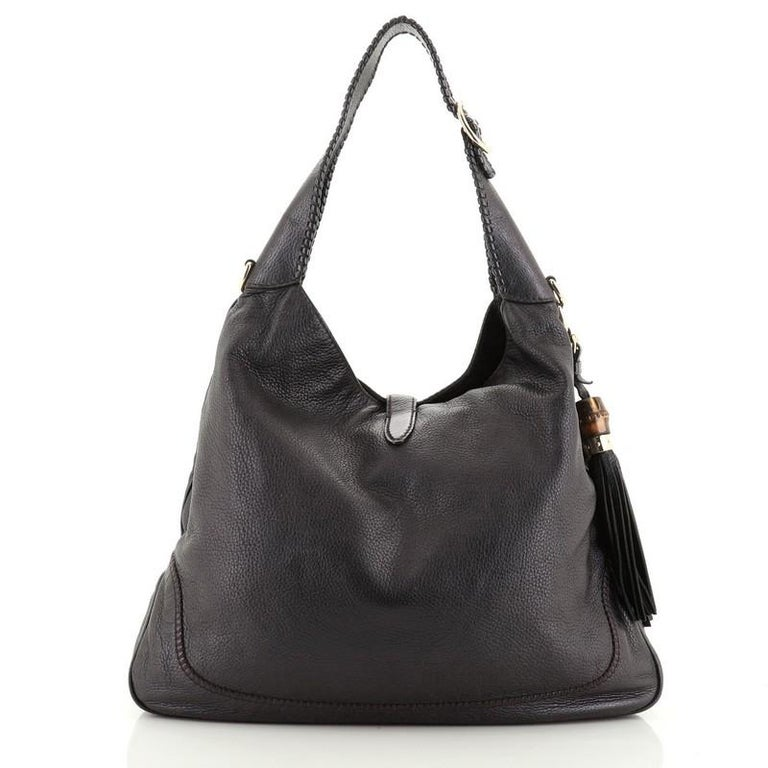 Women's or Men's Gucci  New Jackie Bag Leather Large For Sale