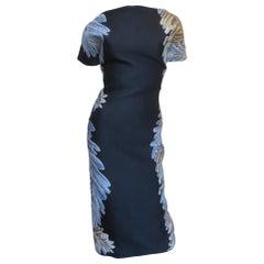 Gucci New Silk Backless Dress