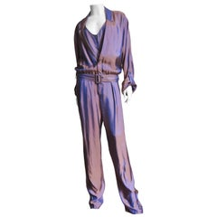 Gucci New Silk Jumpsuit