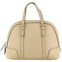 Gucci Nice Top Handle Bag Microguccissima Leather Small