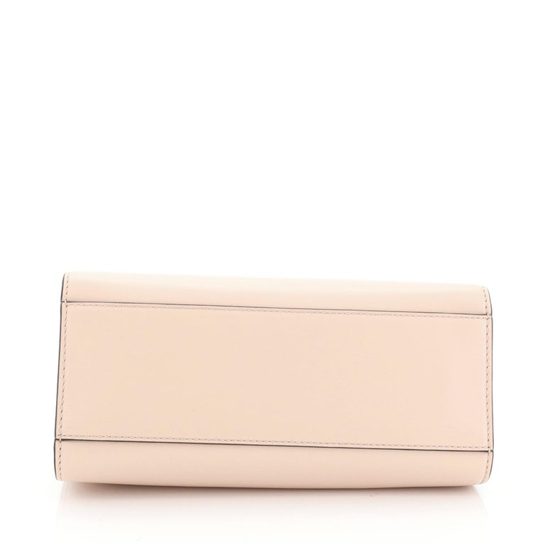 Women's or Men's Gucci Nymphaea Top Handle Bag Leather Mini For Sale