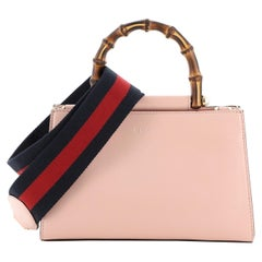 Gucci Nymphaea Top Handle Bag Leather Mini