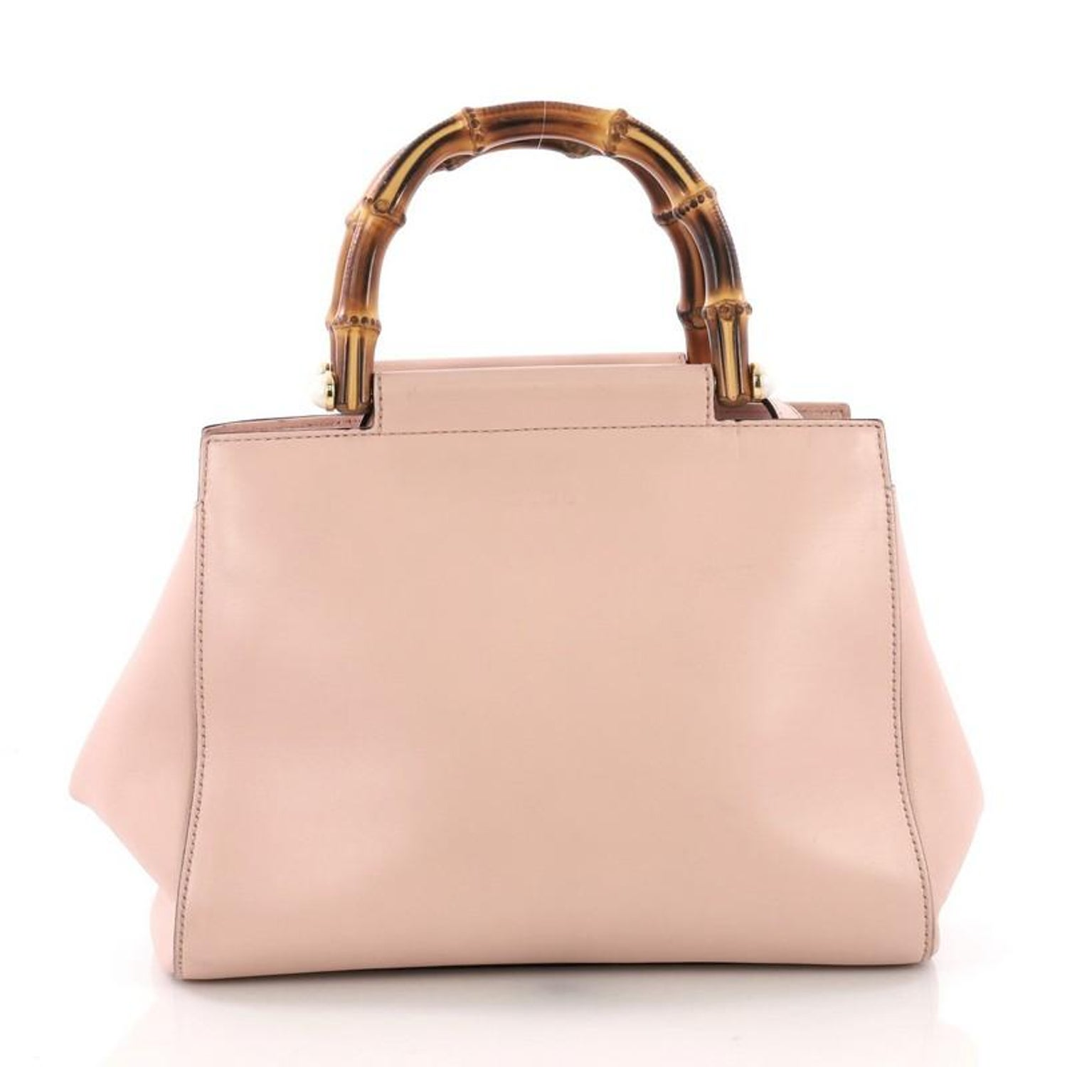 348ec6240c4 Gucci Nymphaea Tote Leather Small For Sale at 1stdibs
