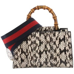 6beeaeaa005f Vintage Gucci Top Handle Bags - 447 For Sale at 1stdibs - Page 2