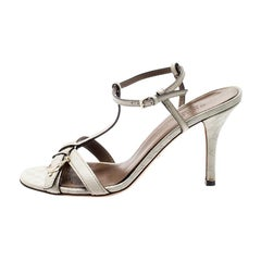 08c773391e5 Gucci Heel Sandals - 98 For Sale on 1stdibs