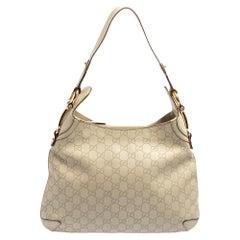 Gucci Off White Guccissima Leather Creole Hobo