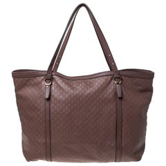 Gucci Old Rose Guccissima Leather Medium Nice Tote