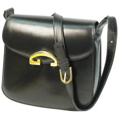 GUCCI one shoulder Womens shoulder bag black