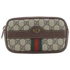Gucci Ophidia Belt Bag GG Coated Canvas Mini