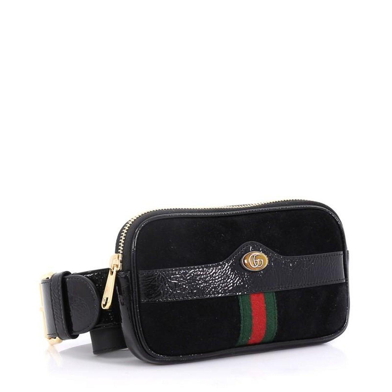 3f110132f0e Gucci Ophidia Belt Bag Suede Mini