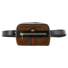 Gucci Ophidia Belt Bag Suede Small