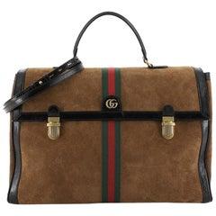 Gucci Ophidia Briefcase Suede