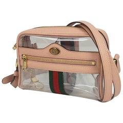 GUCCI Ophidia clear shoulder Womens shoulder bag 517350 pink