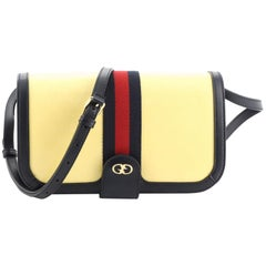Gucci Ophidia Compartment Messenger Bag GG Imprime Medium