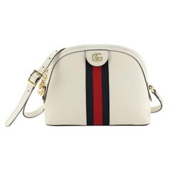 Gucci Ophidia Dome Shoulder Bag Leather Small
