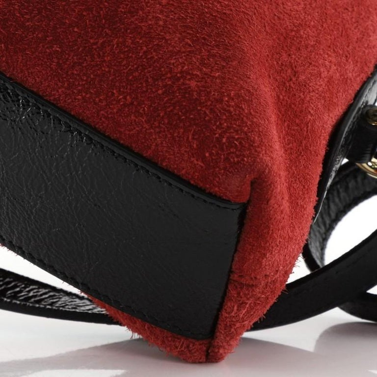 Gucci Ophidia Dome Shoulder Bag Suede Small For Sale 2