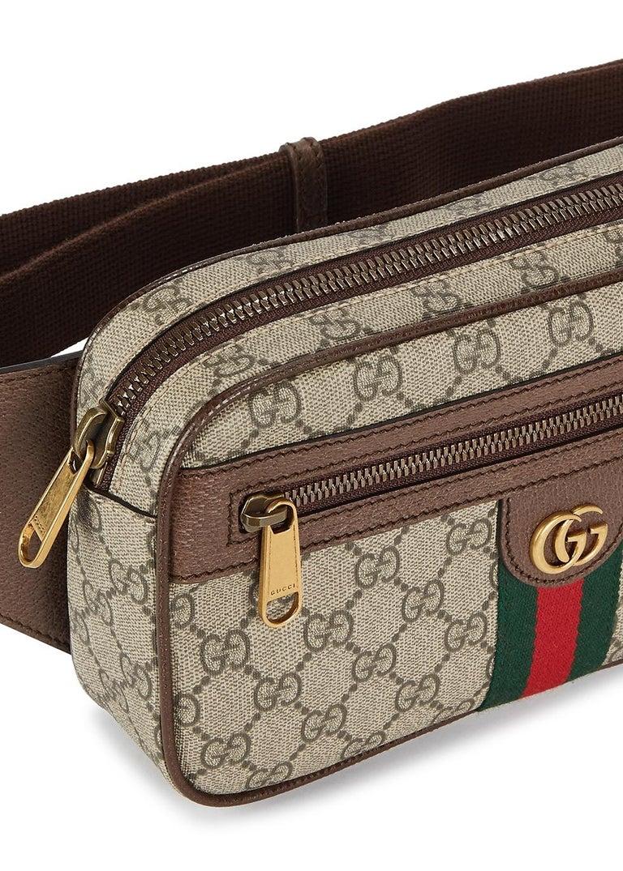 Women's or Men's Gucci Ophidia GG Monogram Leather Belt Bag