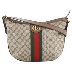 Gucci Ophidia Hobo GG Coated Canvas Small