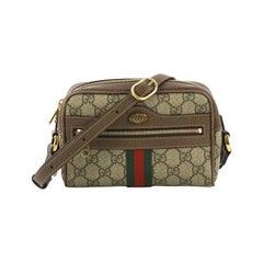 Gucci Ophidia Shoulder Bag GG Coated Canvas Mini