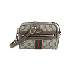 Gucci Ophidia Shoulder Bag GG Coated Canvas Mini