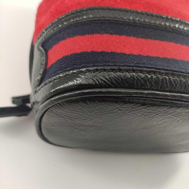 GUCCI Ophidia Shoulder bag in Red Velvet 6