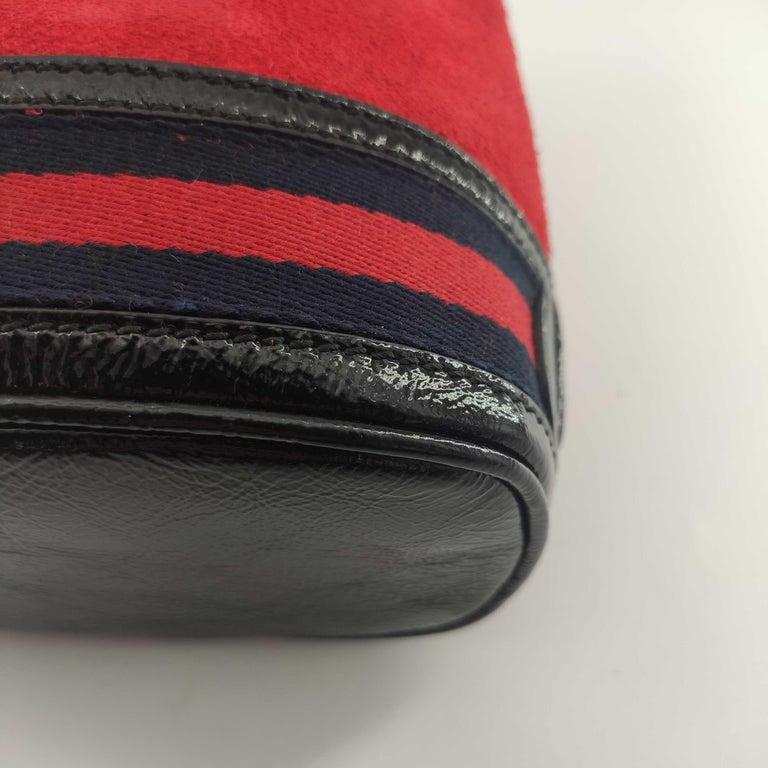 GUCCI Ophidia Shoulder bag in Red Velvet 7
