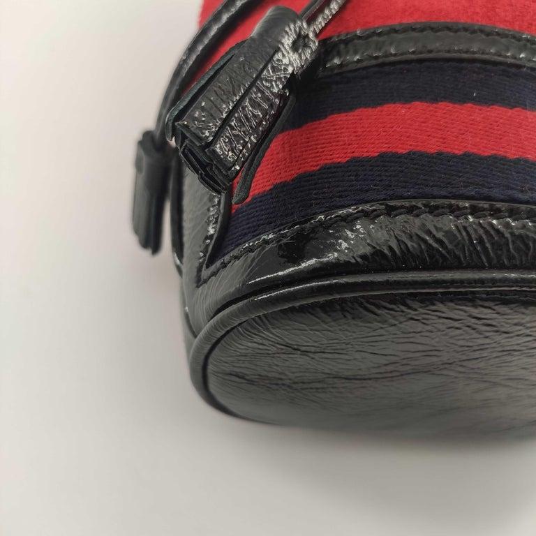 GUCCI Ophidia Shoulder bag in Red Velvet 4