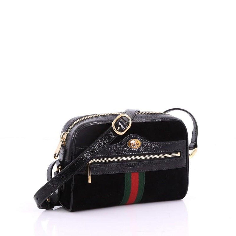 d0be468e4404 Gucci Ophidia Suede Mini Bag – Hanna Oaks