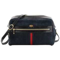 Gucci Ophidia Shoulder Bag Suede Small