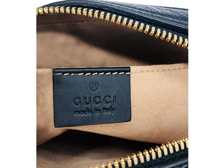 Gucci Ophidia small belt bag - Beige Suede Black leather - New For Sale 1
