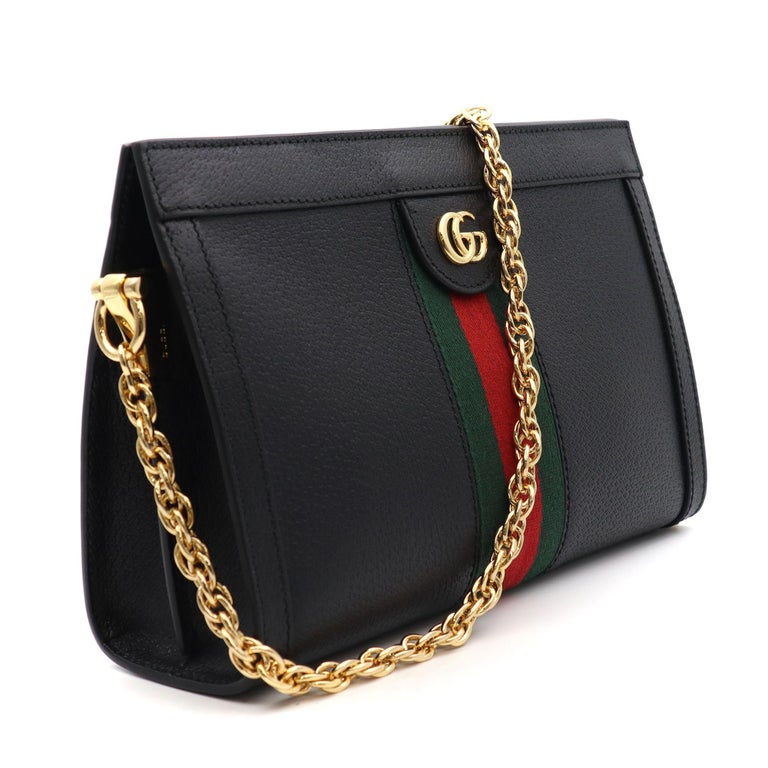 Gucci Ophidia Small Leather Women's Shoulder Bag 503877 DJ2DG 1060 For Sale 1