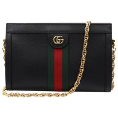 Gucci Ophidia Small Leather Women's Shoulder Bag ‎503877 DJ2DG 1060