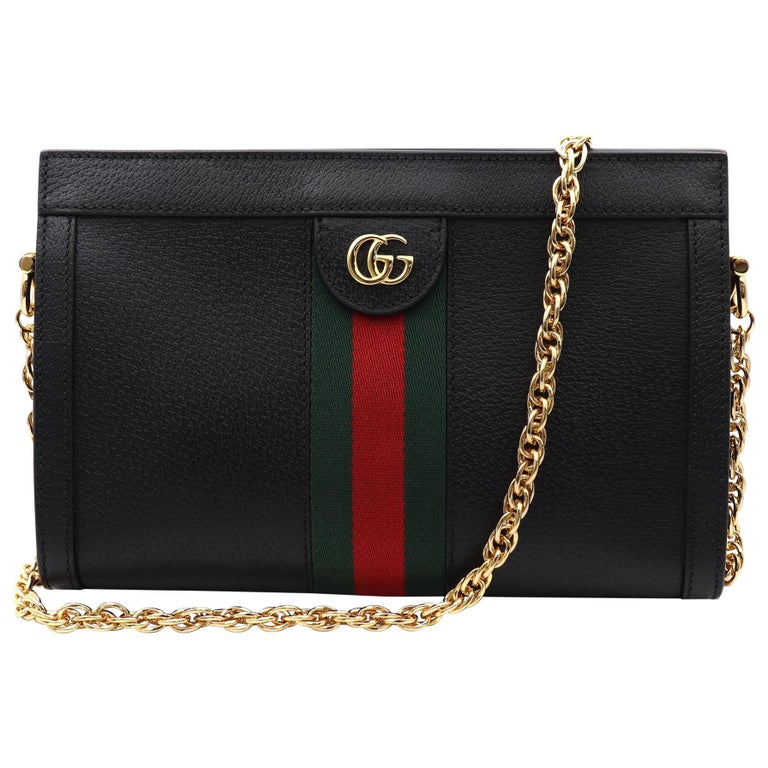 Gucci Ophidia Small Leather Women's Shoulder Bag 503877 DJ2DG 1060 For Sale