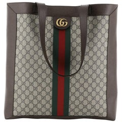 Gucci Ophidia Soft Open Tote GG Coated Canvas Large