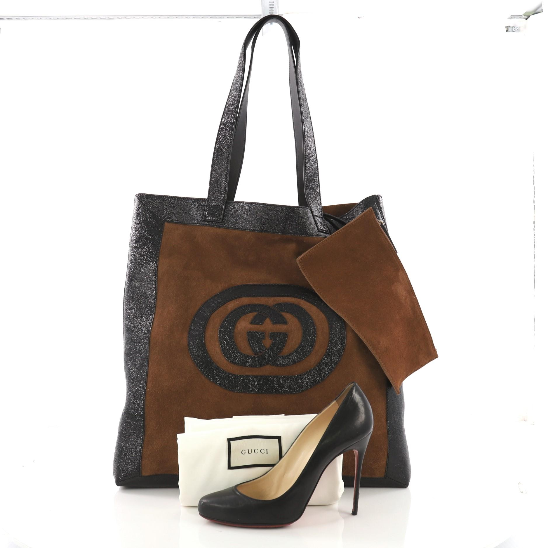 1279091a71952a Gucci Ophidia Soft Open Tote Suede Large at 1stdibs