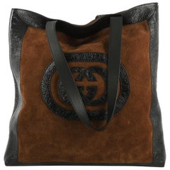 Gucci Ophidia Soft Open Tote Suede Large