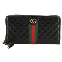 Gucci Ophidia Zip Around Wallet Quilted Leather