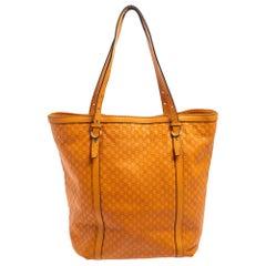Gucci Orange Microguccissima Leather Nice Tote