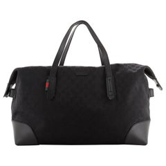 Gucci Original Carry On Duffle Bag GG Canvas