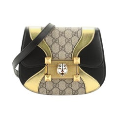 Gucci Osiride Shoulder Bag GG Coated Canvas And Leather Small