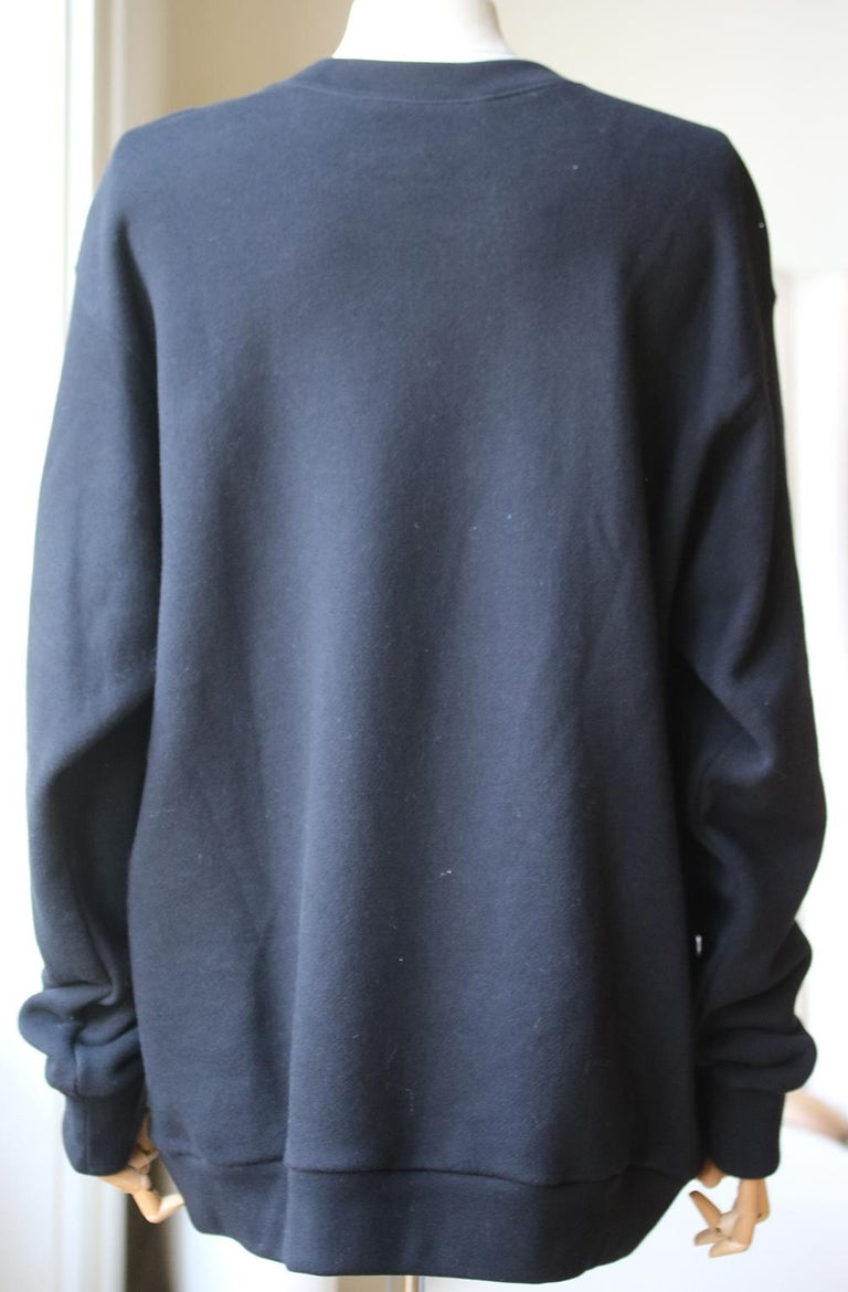 Gucci Oversized Bugs Bunny Cotton-Jersey Sweatshirt  In Excellent Condition For Sale In London, GB