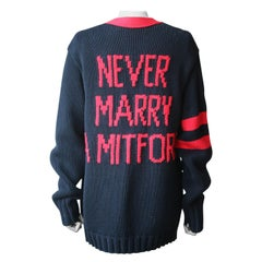 Gucci Oversized Never Marry A Mitford Knit Cardigan
