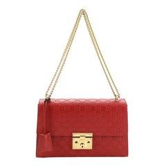 Gucci Padlock Shoulder Bag Guccissima Leather Medium