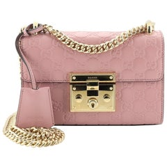 Gucci Padlock Shoulder Bag Guccissima Leather Small