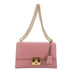 Gucci Padlock Shoulder Bag Leather Medium