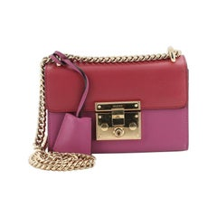 Gucci Padlock Shoulder Bag Leather Small