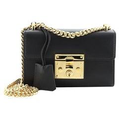 Gucci Padlock Shoulder Bag Leather Small
