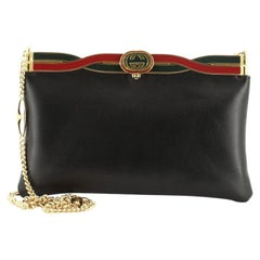 Gucci Palm Lux Broadway Evening Bag Leather