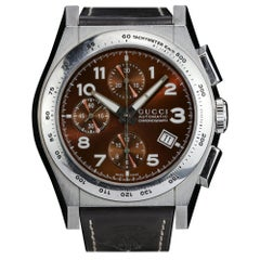 Gucci Pantheon Automatic Chronograph Watch with Full Set